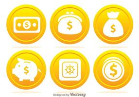 Bank Coin Icons