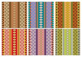 Aztec Patterns vector