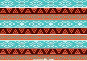 Geometric Ethnic Pattern vector