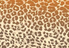 Vector de patrón de leopardo