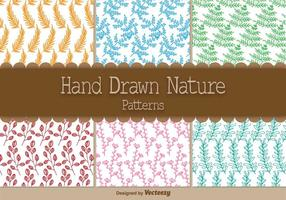Hand Drawn Organic Patterns