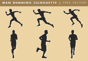 Running Silhouette Free Vector