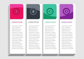 Vector infographic element design