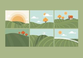Rolling Hills Illustrations