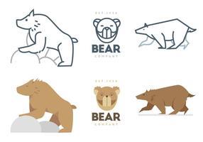 Vetor dos ursos