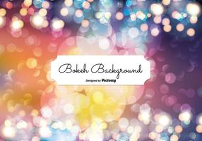 Abstract Bokeh Style Background Illustration