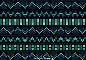 Aztec Pattern On Dark Background vector