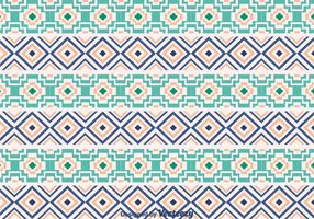 Ethnic Aztec Ornament Pattern vector