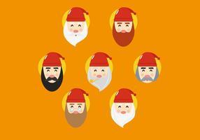 Gnome karaktervectoren