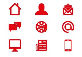 Free Communication Icons Vector