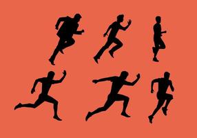 Man running running sequence