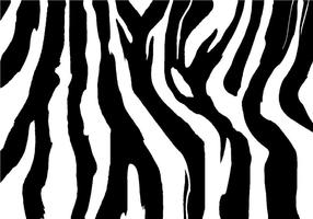 Freier Zebra-Druck-Vektor
