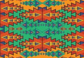 Aztec Pattern Vector