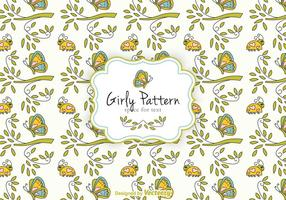 Girly Pattern Vector