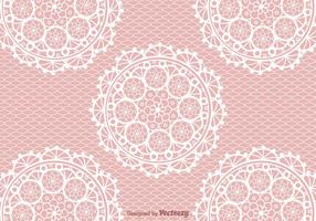 Crochet Lace Vector Background