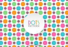 Gratis Colorful Dot Pattern Vector
