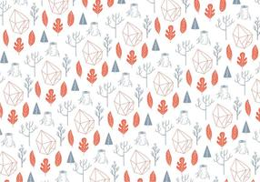 Woodland Abstract Pattern