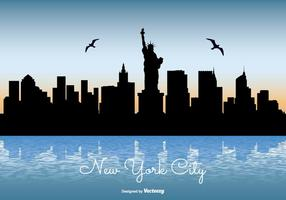 New York City Skyline Illustratie