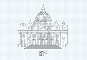 Gratis St Peters Vector