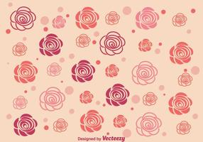 Contexte des roses abstraites