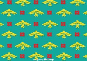 Águila, étnico, patrón, vectores