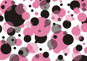 Polka Dots Pattern Free Vector