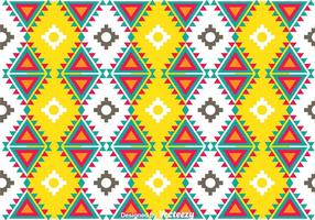 Färgglatt Aztec Mönster