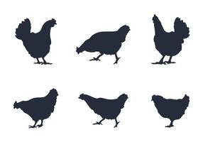 Rooster Silhouette