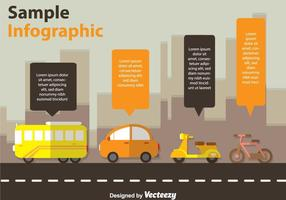 Transportation Infography Vectors