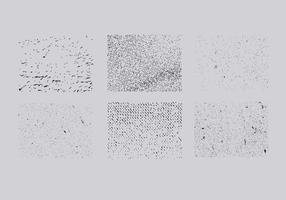 Grunge paquete de superposición de vectores