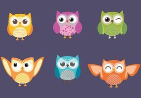 Baby Owl Vectors