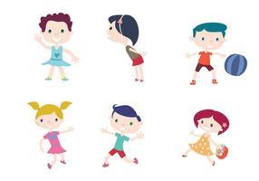 Vecteurs enfants