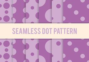 Purple Dot Pattern Vectors