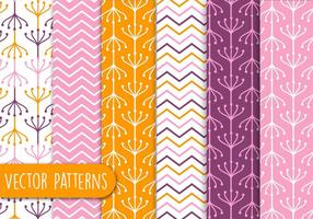 Colorful Sunset Pattern set
