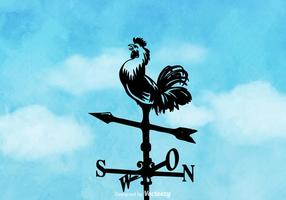 Free Vector Weather Vane Hintergrund