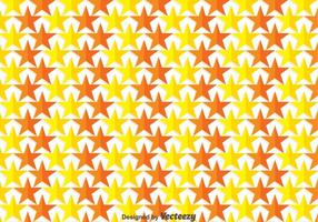 Yellow And Orange Star Background Vector