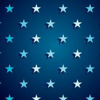 Dark Blue Star Background Vector