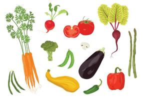Veggies vectorielles
