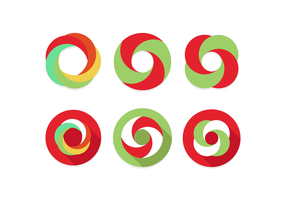 Oneindige lus vector vlak minimalistisch pictogram