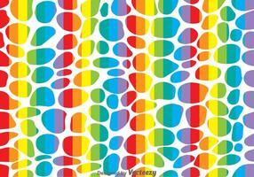 Rainbow Leopard Pattern Vector