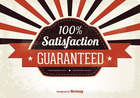 Satisfaction Guaranteed Illustration vector