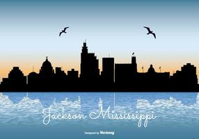 Mississippi skyline illustration