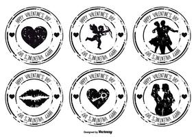 Distressed Valentinstag-Stempel-Set