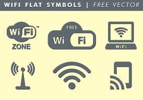 Símbolos WiFi Vector Grátis
