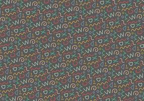 Seamless outline pattern