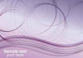 Résumé Purple Waves Background