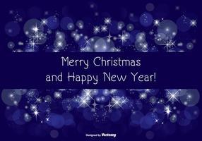 Ilustración de felicitación de Navidad