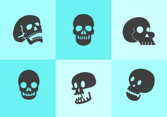 Силуэт черепа