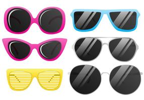 Vector Cool Sunglasses