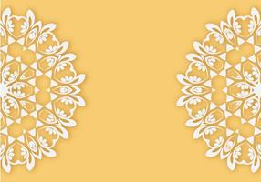 Gratis Lace Pattern Vector